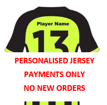 Personalised Player Jersey